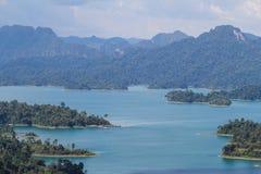 Εθνικό πάρκο KHAO SOK, Suratthani Ταϊλάνδη Στοκ εικόνα με δικαίωμα ελεύθερης χρήσης