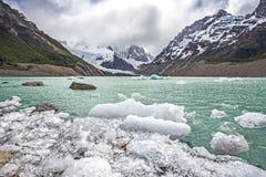 Εθνικό πάρκο Los Glaciares στην Αργεντινή. στοκ εικόνες με δικαίωμα ελεύθερης χρήσης