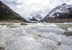 Εθνικό πάρκο Los Glaciares στην Αργεντινή. στοκ εικόνα με δικαίωμα ελεύθερης χρήσης