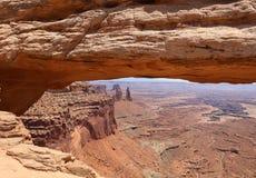 εθνικό πάρκο mesa αψίδων canyonlands Utah Στοκ φωτογραφία με δικαίωμα ελεύθερης χρήσης