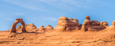 Εθνικό πάρκο Moab Γιούτα ΗΠΑ αψίδων στοκ εικόνα με δικαίωμα ελεύθερης χρήσης