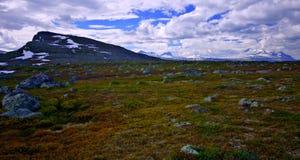 εθνικό πάρκο padjelanta Στοκ Εικόνες