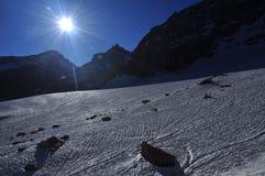 Εθνικό πάρκο Paradiso Gran. Κοιλάδα Aosta, Ιταλία Στοκ φωτογραφία με δικαίωμα ελεύθερης χρήσης