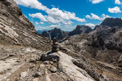 Εθνικό πάρκο Picos DA Ευρώπη Στοκ εικόνα με δικαίωμα ελεύθερης χρήσης