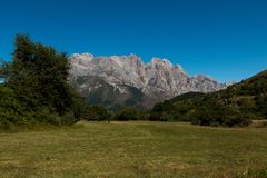 Εθνικό πάρκο Picos DA Ευρώπη Στοκ Εικόνα