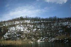 Εθνικό πάρκο Plitvicka Jezera Στοκ εικόνα με δικαίωμα ελεύθερης χρήσης
