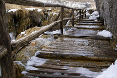 Εθνικό πάρκο Plitvicka Jezera Στοκ Φωτογραφία