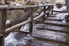 Εθνικό πάρκο Plitvicka Jezera Στοκ εικόνες με δικαίωμα ελεύθερης χρήσης