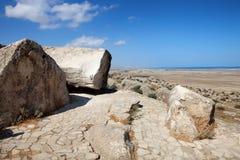 Εθνικό πάρκο Qobustan στο Αζερμπαϊτζάν Στοκ εικόνες με δικαίωμα ελεύθερης χρήσης
