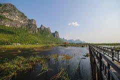 Εθνικό πάρκο roi SAM Khao yod, Ταϊλάνδη Στοκ Φωτογραφία