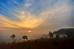Εθνικό πάρκο Salaeng Luang Thung Στοκ φωτογραφία με δικαίωμα ελεύθερης χρήσης