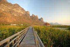 Εθνικό πάρκο SAM Roi Yot Khao. Στοκ φωτογραφίες με δικαίωμα ελεύθερης χρήσης