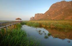 Εθνικό πάρκο SAM Roi Yot Khao. Στοκ εικόνες με δικαίωμα ελεύθερης χρήσης