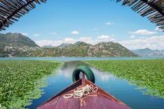 Εθνικό πάρκο Skadar λιμνών, Μαυροβούνιο στοκ φωτογραφία με δικαίωμα ελεύθερης χρήσης