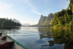 εθνικό πάρκο sok Ταϊλάνδη khao στοκ εικόνα