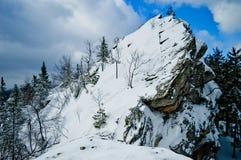 Εθνικό πάρκο Taganay, περιοχή Chelyabinsk, της Ρωσίας Στοκ εικόνες με δικαίωμα ελεύθερης χρήσης