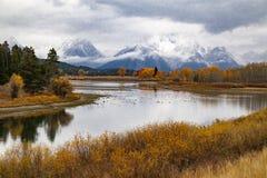 Εθνικό πάρκο Teton στοκ φωτογραφία με δικαίωμα ελεύθερης χρήσης
