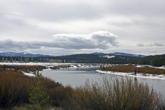 εθνικό πάρκο teton Στοκ Εικόνες