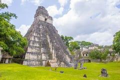 Εθνικό πάρκο Tikal Στοκ φωτογραφία με δικαίωμα ελεύθερης χρήσης