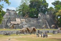 Εθνικό πάρκο Tikal Στοκ Φωτογραφίες