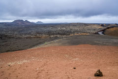 Εθνικό πάρκο Timanfaya - Lanzarote Στοκ εικόνες με δικαίωμα ελεύθερης χρήσης