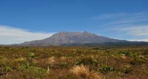 Εθνικό πάρκο Tongariro στοκ εικόνα με δικαίωμα ελεύθερης χρήσης