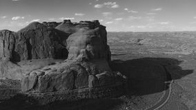 εθνικό πάρκο Utah αψίδων Πανοραμική εναέρια άποψη στο ηλιοβασίλεμα Στοκ φωτογραφίες με δικαίωμα ελεύθερης χρήσης