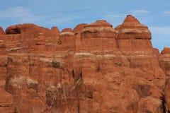 εθνικό πάρκο Utah αψίδων Στοκ Φωτογραφία