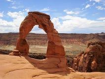 εθνικό πάρκο Utah αψίδων αψίδα λεπτή Στοκ Εικόνα