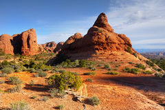 εθνικό πάρκο Utah αψίδων Στοκ εικόνες με δικαίωμα ελεύθερης χρήσης