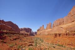εθνικό πάρκο Utah λεωφόρων αψί&de Στοκ Εικόνες
