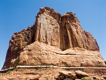 εθνικό πάρκο Utah οργάνων αψίδ&omeg Στοκ φωτογραφία με δικαίωμα ελεύθερης χρήσης