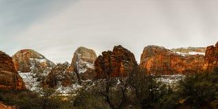εθνικό πάρκο Utah zion Στοκ εικόνα με δικαίωμα ελεύθερης χρήσης