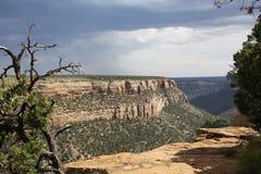 Εθνικό πάρκο Verde Mesa στο Κολοράντο, ΗΠΑ Στοκ Φωτογραφίες