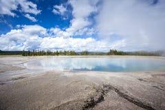 Εθνικό πάρκο Yellowstone, Γιούτα, ΗΠΑ Στοκ φωτογραφίες με δικαίωμα ελεύθερης χρήσης