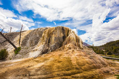 Εθνικό πάρκο Yellowstone Wyoming ΗΠΑ geysers Στοκ εικόνα με δικαίωμα ελεύθερης χρήσης