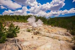 Εθνικό πάρκο Yellowstone Wyoming ΗΠΑ geysers Στοκ Φωτογραφίες