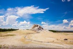 Εθνικό πάρκο Yellowstone Wyoming ΗΠΑ geysers Στοκ φωτογραφίες με δικαίωμα ελεύθερης χρήσης
