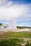 Εθνικό πάρκο Yellowstone Wyoming ΗΠΑ geysers Στοκ φωτογραφία με δικαίωμα ελεύθερης χρήσης