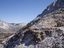 Εθνικό πάρκο Yosemite στο χιόνι Στοκ φωτογραφία με δικαίωμα ελεύθερης χρήσης