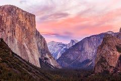 Εθνικό πάρκο Yosemite Στοκ εικόνα με δικαίωμα ελεύθερης χρήσης