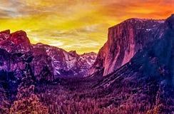 Εθνικό πάρκο Yosemite Στοκ Εικόνα