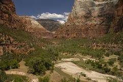 εθνικό πάρκο zion στοκ εικόνα με δικαίωμα ελεύθερης χρήσης