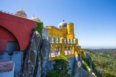 Εθνικό παλάτι Pena σε Sintra, Πορτογαλία Palacio Nacional DA Pena Στοκ φωτογραφίες με δικαίωμα ελεύθερης χρήσης