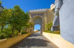 Εθνικό παλάτι Pena σε Sintra, Πορτογαλία Palacio Nacional DA Pena Στοκ Εικόνες