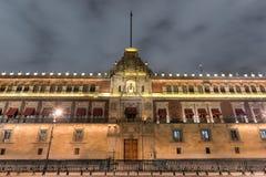 Εθνικό παλάτι, Πόλη του Μεξικού Στοκ Εικόνες