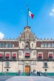 Εθνικό παλάτι, Πόλη του Μεξικού Στοκ εικόνα με δικαίωμα ελεύθερης χρήσης