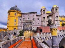 Εθνικό παλάτι Pena σε Sintra στοκ εικόνες με δικαίωμα ελεύθερης χρήσης