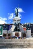 Εθνικό πολεμικό μνημείο στη στο κέντρο της πόλης νέα γη Καναδάς του ST John Στοκ Εικόνες