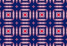 εθνικό πρότυπο abstract kaleidoscope Στοκ Φωτογραφίες